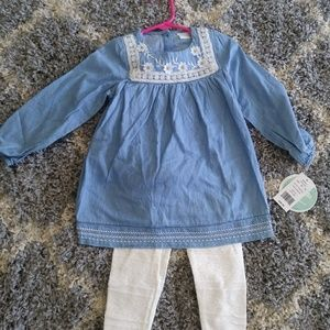 Toddler 2 piece Girls outfit
